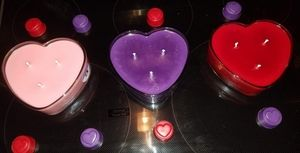 30oz Soy Heart Candle